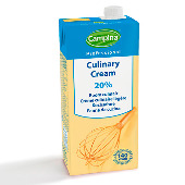 PROFESSIONALY culinary cream  20% m.m. 1L