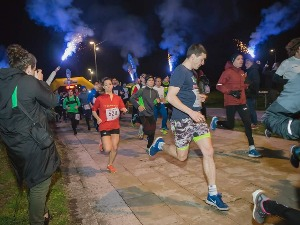 Campina and Čokolend on the First Winter Night Half Marathon!
